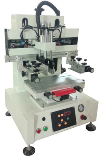 Asztali szitanyomó gép
